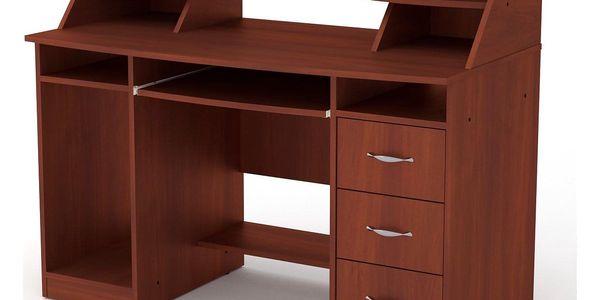PC stůl KOMFORT-5 buk3