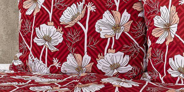4Home Bavlněné povlečení Luční květina, 140 x 220 cm, 70 x 90 cm2