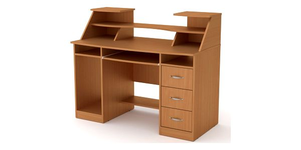 PC stůl KOMFORT-5 buk4