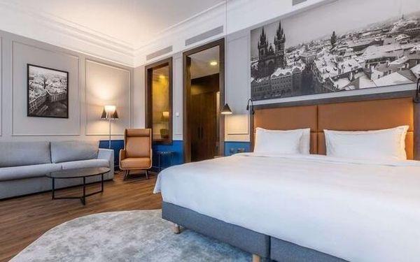 Luxus na nejvyšší úrovni: 5* hotel v centru Prahy se snídaní 3 dny / 2 noci, 2 os., snídaně5