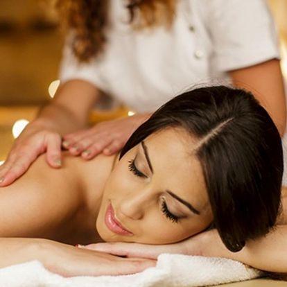 Thajská hodinová masáž a další péče dle výběru
