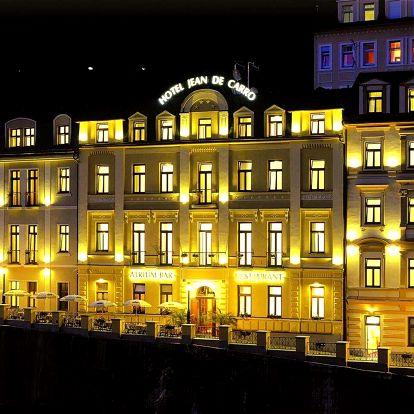 Podzim v hotelu Jean de Carro**** v Karlových Varech s wellness a polopenzí