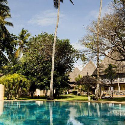 Keňa - Diani Beach letecky na 12 dnů, all inclusive