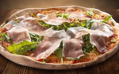 Pravá italská pizza dle výběru pro 2-5 osob