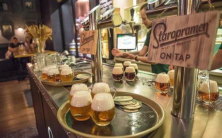 Interaktivní prohlídka pivovaru Staropramen v Praze