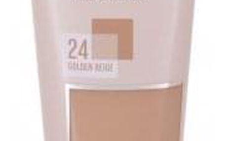 Maybelline Affinitone 30 ml zmatňující makeup pro ženy 24 Golden Beige