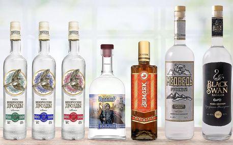 Kvalitní běloruské vodky: čisté i s příchutěmi