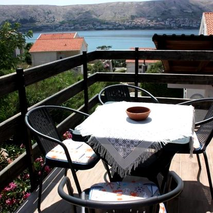 Chorvatsko, Pag: Apartments Jaska