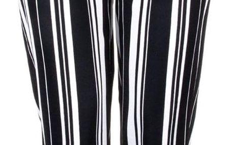 Eleuek dámské elegantní kalhoty s vázačkou