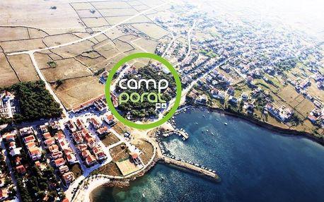 Chorvatsko, Pag: Camp Porat