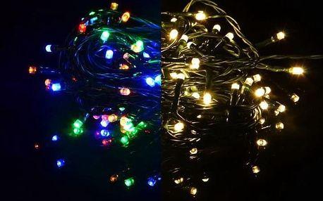 Nexos 39231 Vánoční světelný řetěz 40 LED - 9 blikajících funkcí - 3,9 m