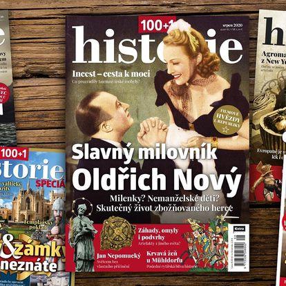 Časopis 100+1 historie, kompletní ročník 2020