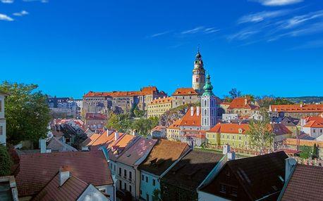 Penzion na náměstí v Českém Krumlově se snídaní
