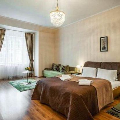 Centrum Karlových Varů v apartmánech Residence Goethe U Tří mouřenínů **** s vínem, procedurou a snídaní