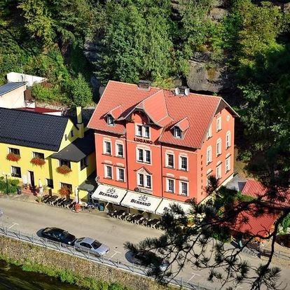 Hřensko, Ústecký kraj: Pension-Restaurace Lugano