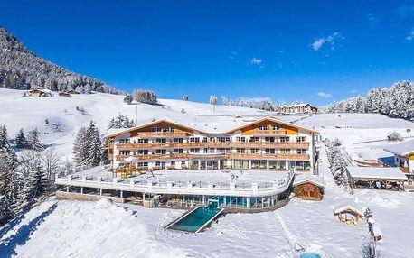 Val Gardena | Hotel Scherlin*** s bazény | Dítě do 6,99 let zdarma | Ubytování s polopenzí
