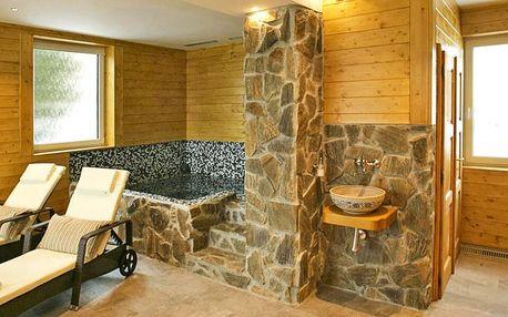 Privátní relax až pro 4: vířivka, sauna i ovoce