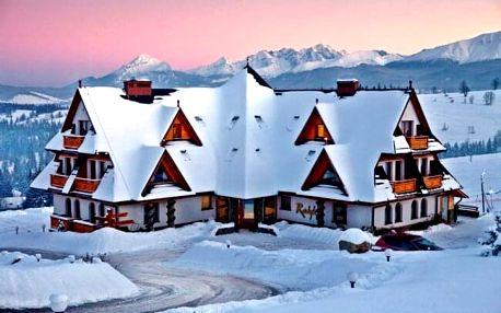 Polské Tatry blízko ski areálu v Hotelu Redyk Ski&Relax *** s neomezeným wellness, balíčkem slev a polopenzí