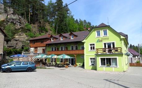 Národní park České Švýcarsko: Pension Les