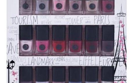 2K Nail Collection dárková kazeta pro ženy lak na nehty 18 x 5 ml