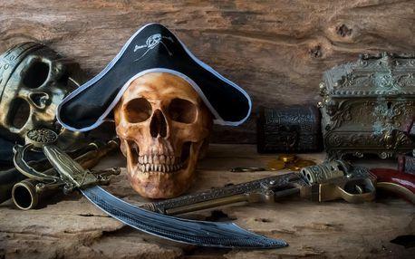 Úniková hra Piráti: 60 min. zábavy pro 3–6 hráčů
