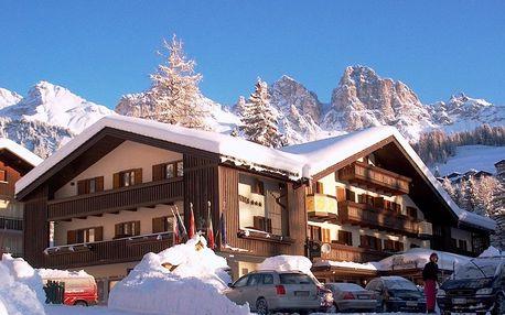 4–8denní Falcade se skipasem | Hotel Arnica*** | Ubytování, Polopenze a skipas