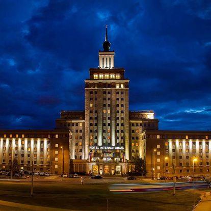 Hotel International**** Prague v rezidenční části Prahy a blízko pražských památek