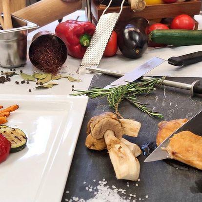 3hod. kurz vaření pro 1 i 2: paštika i jelení hřbet