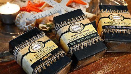 Šungitová mýdla s bambuckým máslem: 10 druhů