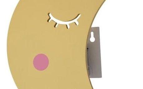 Dětské noční LED svítidlo Měsíček, 34 x 22 x 11 cm