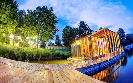 Romantický pobyt na vodní hladině v Altánu Sasanka se stravou a saunou