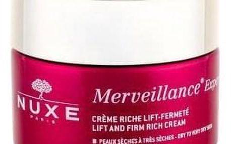 NUXE Merveillance Expert Lift And Firm Rich 50 ml denní zpevňující a liftingový krém pro suchou pleť tester pro ženy