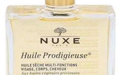 NUXE Huile Prodigieuse Multi-Purpose Dry Oil 50 ml multifunkční zkrášlující suchý olej na obličej, tělo a vlasy pro ženy