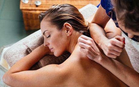 60 nebo 90 min. thajské masáže pro 1 či 2 osoby