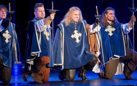 Muzikál Tři mušketýři v Divadle Broadway