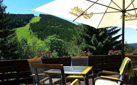 Parkhotel Harrachov*** 300 m od skiareálu Čertova hora s polopenzí