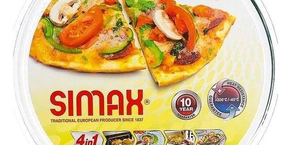 SIMAX forma na pizzu d320x20 sklo2