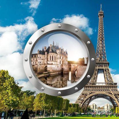 Paříž a nejkrásnější zámky na Loiře   5denní zájezd   Doprava, ubytování a průvodce v ceně