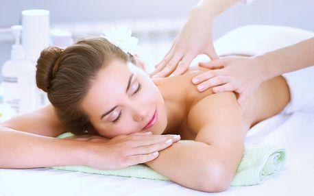 Relaxační či hloubkové regenerační masáže