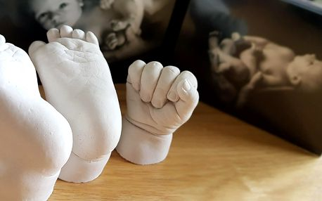Sada na 3D odlitky: milá památka pro celou rodinu