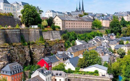 Lucembursko a nejslavnější města Belgie | 5denní zájezd s ubytováním | Doprava a průvodce v ceně