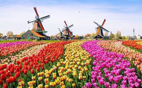 Květinový park Keukenhof s návštěvou Amsterdamu | 1 noc se snídaní | 4denní poznávací zájezd do Holandska