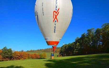 Adrenalinový let sportovním horkovzdušným balónem pro dva