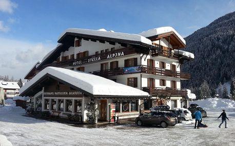 Falcade | Hotel Stella Alpina*** | Až dvě děti zdarma | Polopenze
