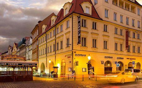 Pobyt v centru Prahy se snídaní s vstupem do klubu