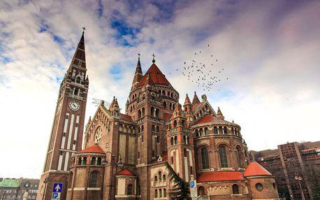 Srbsko a maďarský Szeged | 3denní zájezd s ubytováním | Doprava a průvodce v ceně