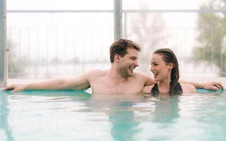 Pasohlávky jen 300 m od Aqualandu Moravia a nedaleko Brna v Hotelu Termal Mušov *** s wellness a polopenzí