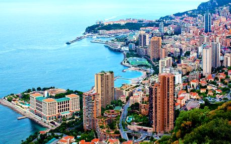 Monako, Monte Carlo a Nice | 4denní poznávací zájezd | Doprava, ubytování a průvodce v ceně