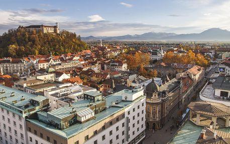 Slovinsko + koupání u moře | 5denní zájezd s dopravou, ubytováním a průvodcem v ceně