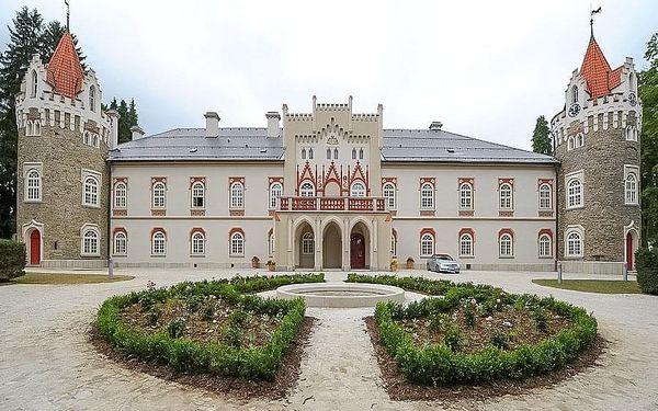 Luxusní zámecká dovolená s wellness v Chateau Herálec na Vysočině